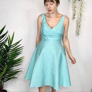 "NWT ALFRED SUNG ""Coastal"" dress style D624"
